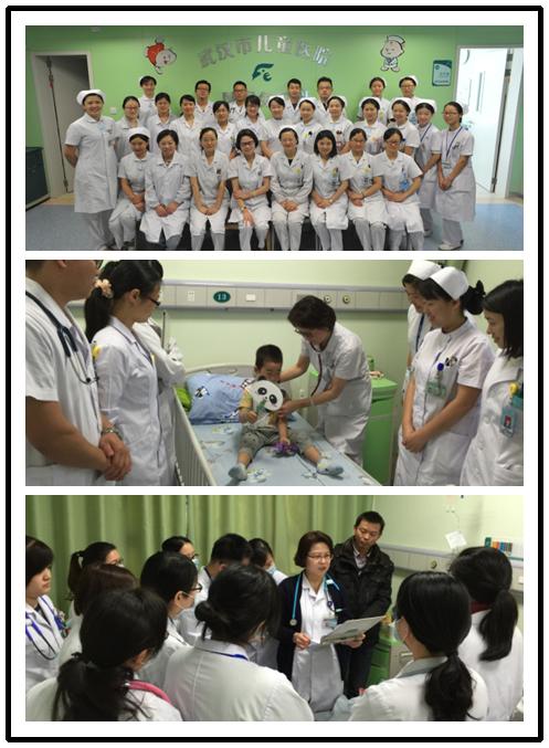 儿童医院的日常工作