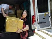 情系灾区:总会副会长范红华赴孝感捐送物资